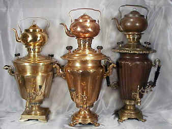 Russian Samovars - Rare Antique Imperial Russian Samovars