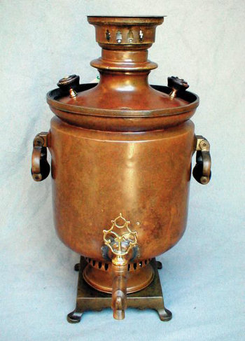 Peasant Barrel Shaped Samovar