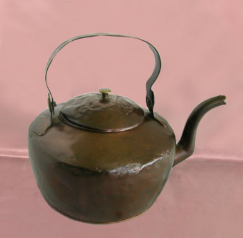 Large American Copper Kettle