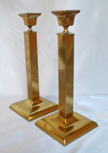 Arts & Crafts Sabbath Candlesticks