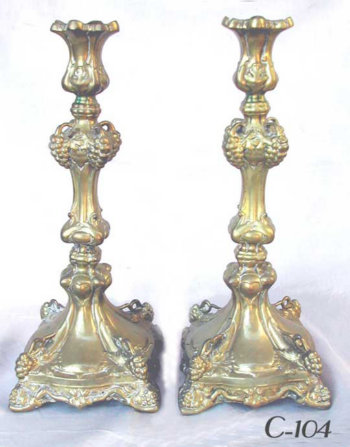 Grapevine Candlesticks