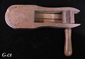 Antique Wooden Gragger