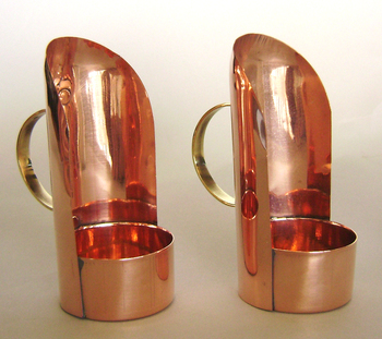 Copper mini lanterns
