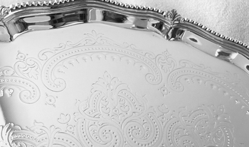 Candlestick Tray CT1 detail
