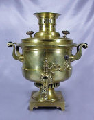 Massive And Rare Drum Shaped Samovar
