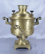 Unique Drum Shaped Samovar
