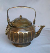 Sephardic Hand Made Brass Samovar Tea Pot