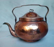 Hand Hammered Copper Samovar Tea Pot