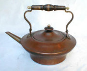 Elegant French Hand Made Copper Tea Pot