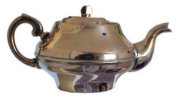 Antique Brass Samovar Teapot