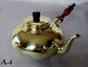 Beautiful Antique Brass Tea Pot