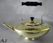 Antique Teapot of Compressed Ovoid Shape
