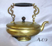 Antique Brass Tea Pot