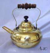 Antique Brass Teapot