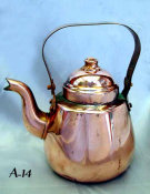 Diminutive Copper Tea Pot