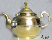 Polished Brass Samovar Teapot
