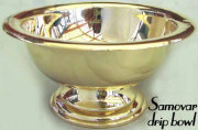 Elegant Samovar Drip Bowl 20th Century