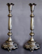 Polish Sabbath Candlesticks