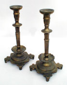 Czarist Russian Sabbath Candlesticks