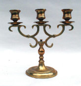 3 Light Sabbath Candelabra