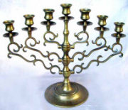 Synagogue Menorah