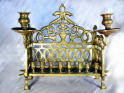 Late 18th/Early 19th Century Chanukah Menorah