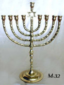 Antique Chanukah Menorah