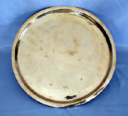 Large Heavy Circular Tray