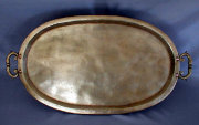 Large Oval Tray with Handles