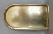 Rectangular Tray with Curved Front And Russian Seals