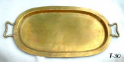Antique Russian Hand Made Heavy Weight Tray