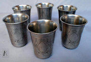 Matching Set of 6 Beakers