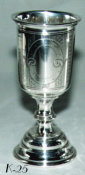 Austro-Hungarian Empire Silver Kiddush Cup
