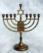 Ten Commandments Menorah