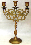 3 Light Sabbath Candelabrum
