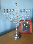 Grand Antique Synagogue Chanukah Menorah