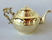 Antique Brass Teapot for Samovar