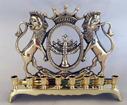 Chanukah Menorah from post WWI Poland