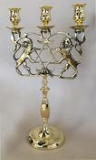 Antique 3-Light Candelabrum