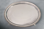 Oval Candlestick Tray - CT2